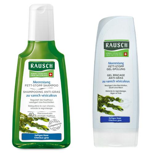 Купить Rausch Набор Для жирной кожи головы шампунь 200 мл + кондиционер 200 мл (Rausch, Для жирной кожи головы)