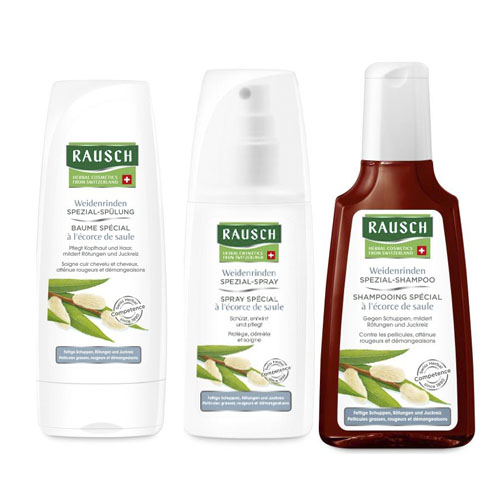 Купить Rausch Набор Для проблемной кожи головы шампунь 200 мл + кондиционер 200 мл + спрей 100 мл (Rausch, Для проблемной кожи головы)