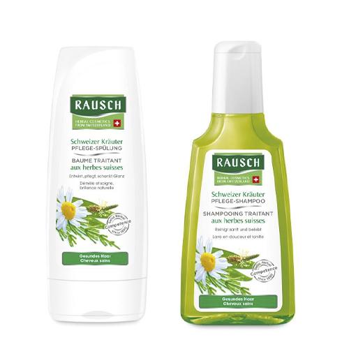 Купить Rausch Набор Для здоровых волос шампунь 200 мл + кондиционер 200 мл (Rausch, Для здоровых волос)