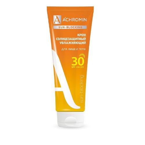 Achromin Солнцезащитный крем для лица и тела SPF 30 250 мл (Achromin, Sun Blocking) крем от солнца spf
