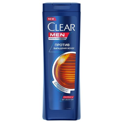 CLEAR Шампунь Men Защита от выпадения волос, 400 мл (CLEAR, Шампуни) ducray неоптид лосьон от выпадения волос для мужчин 100 мл