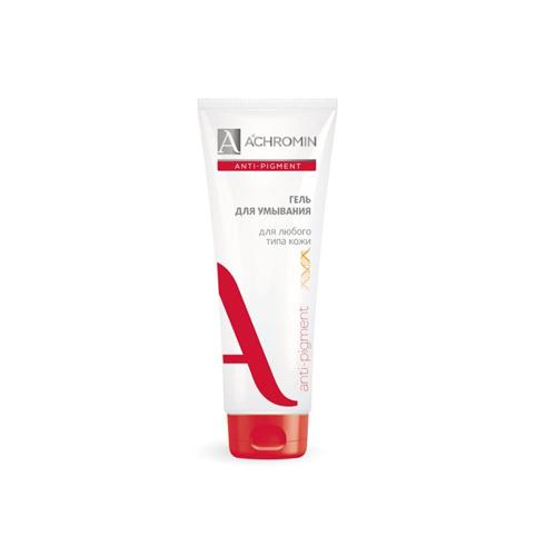 Achromin Гель для умывания для любого типа кожи 100 мл (Achromin, Anti Pigment) clearasil гель для умывания