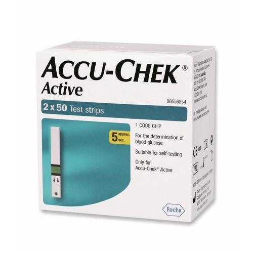 Accu-Chek Тест-полоски актив N100/2Х50/ (Accu-Chek, Active)