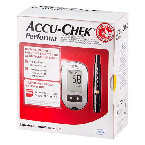 Accu-Chek Глюкометр перформа набор (Accu-Chek, Performa)