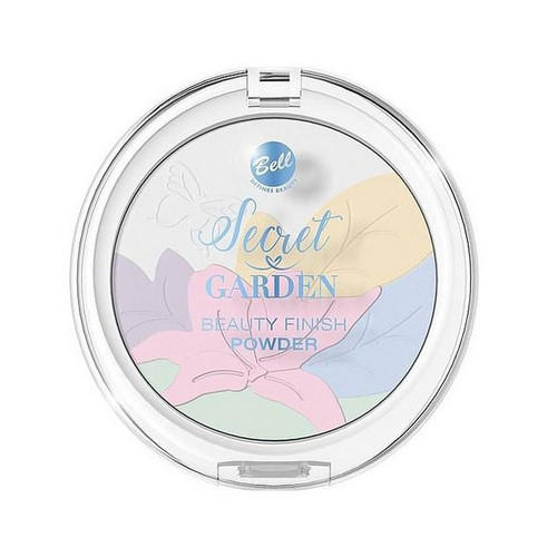 Пудра Многоцветная корректирующая декоративная Secret Garden Beauty Finish Powder 9 г (Bell, Для лица) пудра корректирующая bell