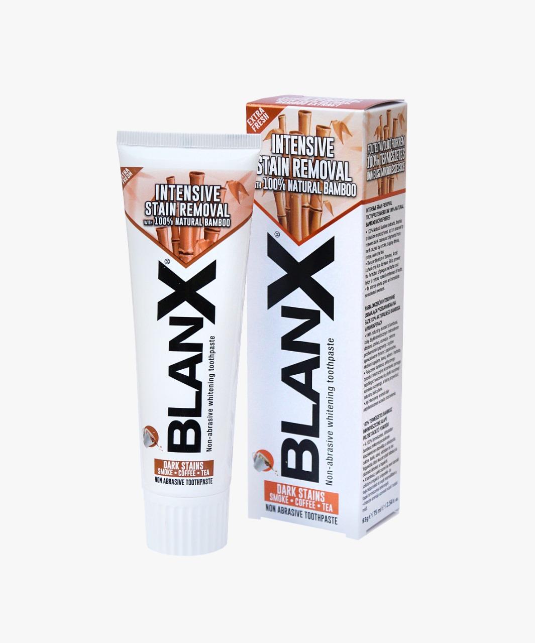 Blanx Интенсивное удаление пятен 75 мл (Blanx, Зубные пасты Blanx)