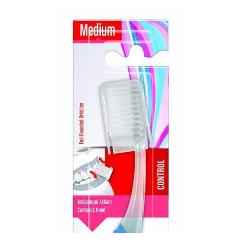 Зубная Щетка средней жесткости Isodent Medium 1 шт. (Blanx, Isodent) зубная щетка piave вояж средней жесткости дорожная голубой