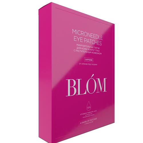 Blom Патчи  4 пары Кофеин (Blom, Микроигольные патчи)