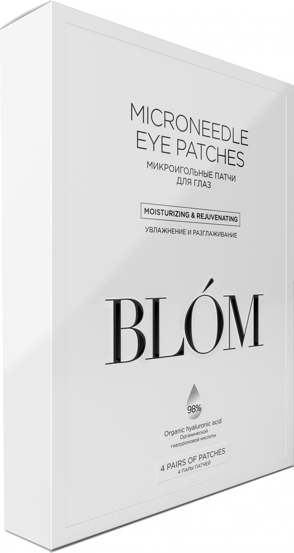 Blom Микроигольные патчи для глаз 4 пары (Blom, Патчи)