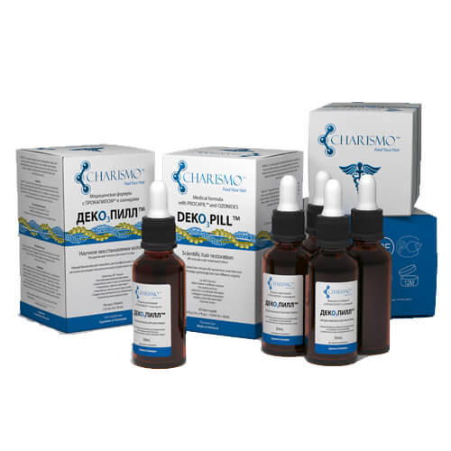 Dekopill Декопил натуральный восстанавливающий лосьон для кожи головы 4х30 мл (Deko3Pill)