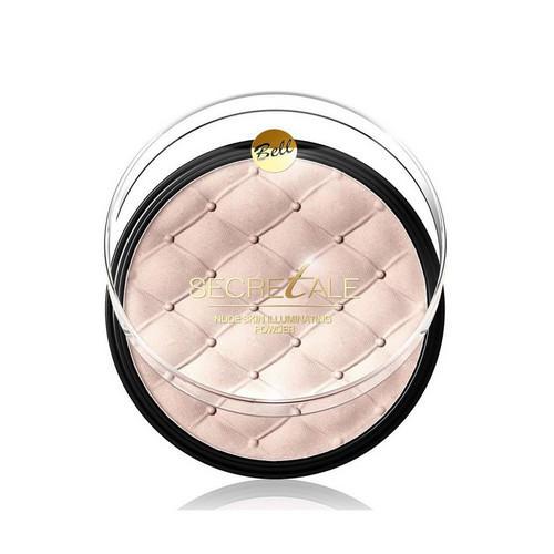 Bell Пудра Для Лица И Тела Осветляющая Secretale Nude Skin Illuminating Powder 6 г (Bell, Для лица)