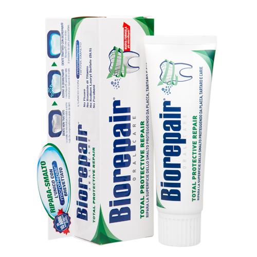 Зубная паста для комплексного восстановления и защиты Total Protective Repair 75 мл (Biorepair, Ежедневная забота)