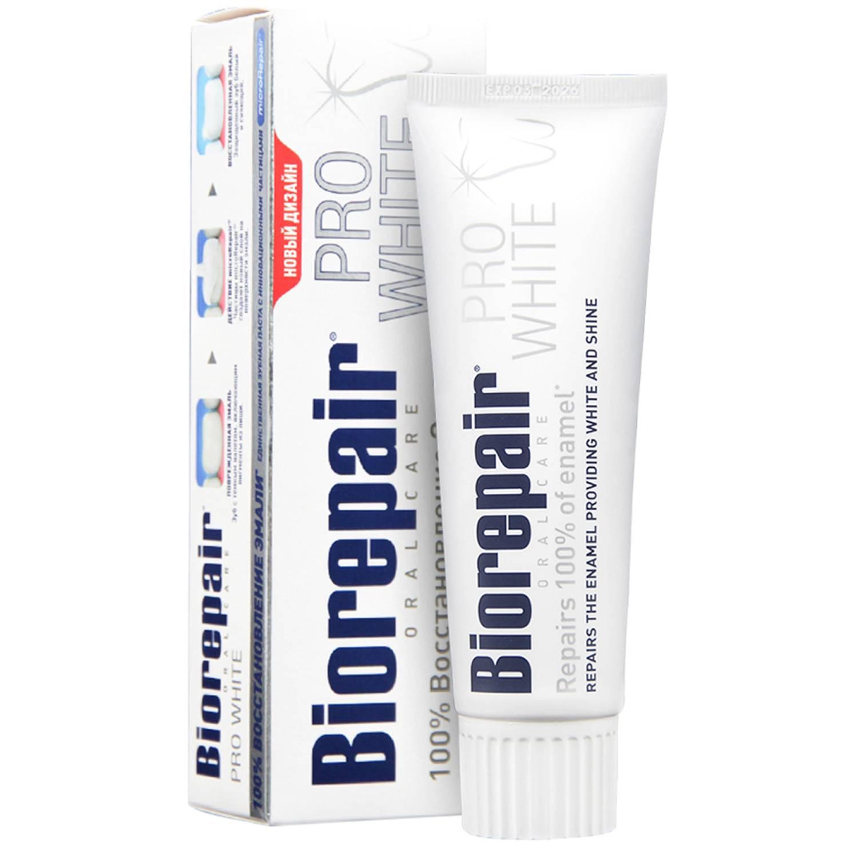 Купить Biorepair Биорепеир Зубная паста отбеливающая Pro White 75 мл (Biorepair, Отбеливание и лечение), Италия