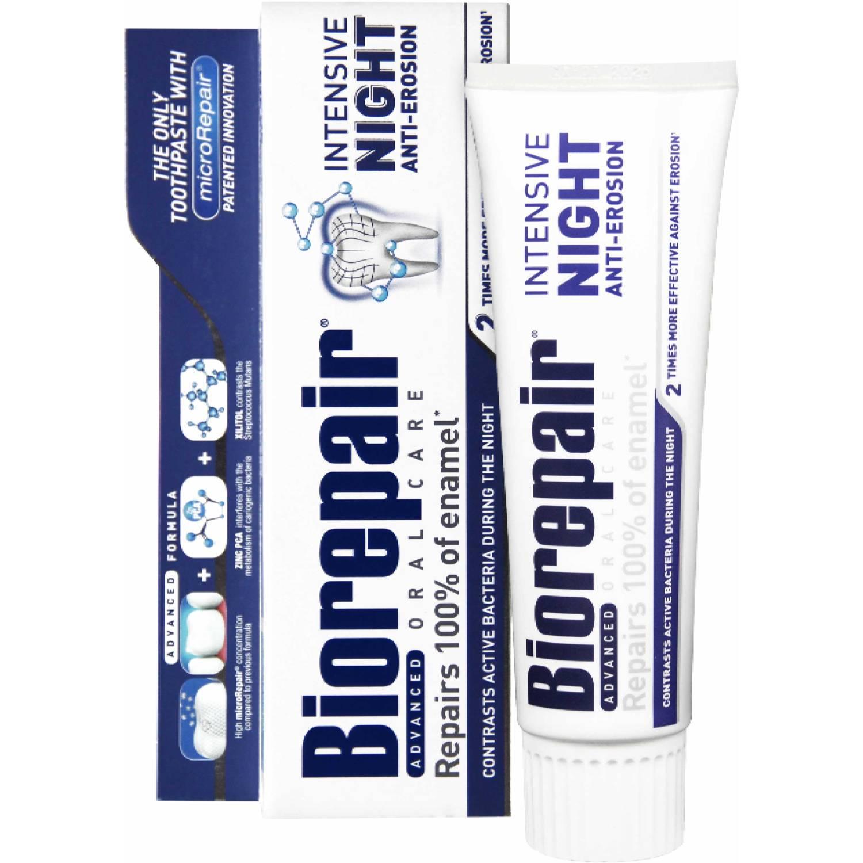 Купить Biorepair Ночная Зубная паста Интенсивное восстановление 75 мл (Biorepair, Ежедневная забота), Италия