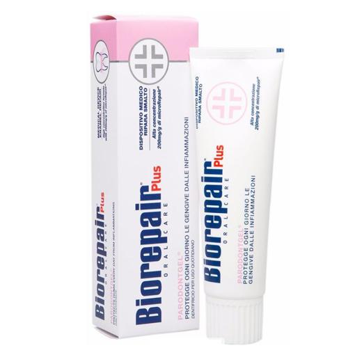 Biorepair Plus paradontgel Зубная паста для профессиональных болезней десен 75 мл (Biorepair, Ежедневная забота)