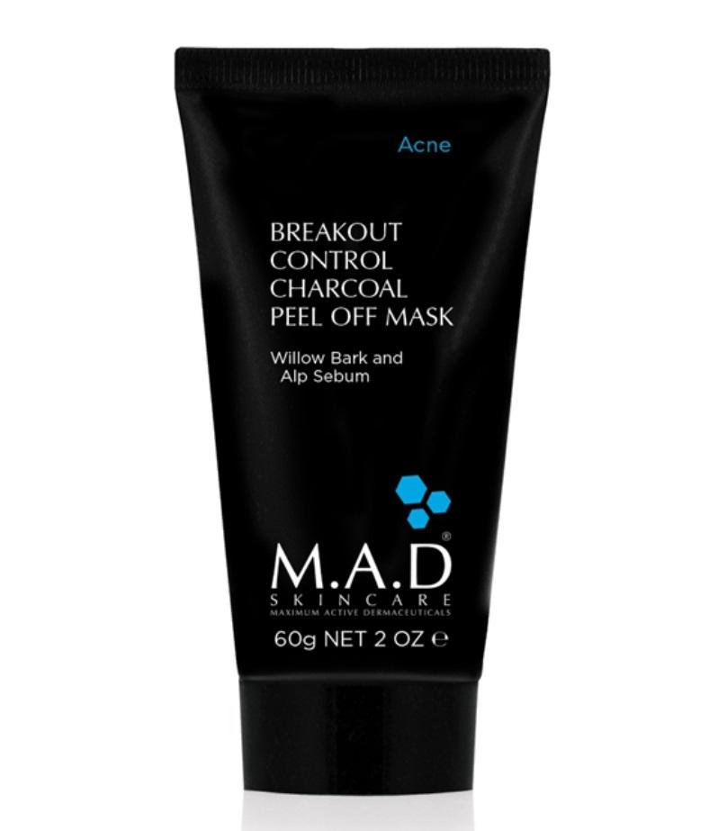 Купить M.A.D. Отшелушивающая маска-пленка с углем, 60 мл (M.A.D., Acne)