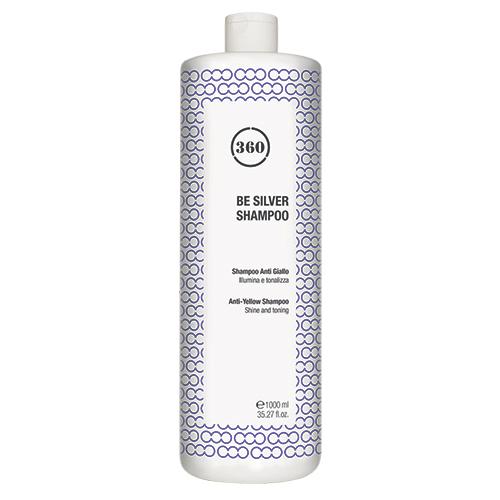 360 Антижелтый шампунь для волос Be Silver Shampoo, 1000 мл (360, Уход)