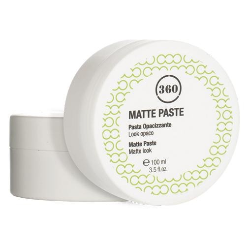 360 Матовая паста для укладки волос Matte Paste, 100 мл (360, Стайлинг)