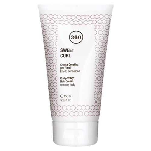 360 Крем для вьющихся волос Sweet Curl, 150 мл (360, Стайлинг)