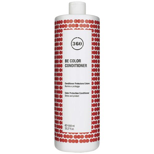 Фото - 360 Кондиционер для защиты цвета волос Be Color Conditioner, 1000 мл (360, Уход) kaaral кондиционер для волос 360 be silver 1000 мл