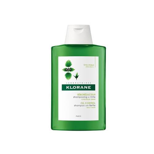 Шампунь с экстрактом крапивы для жирных волос 200 мл (Oily Prone Hair) (Klorane)