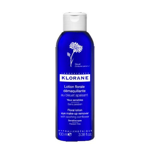 Klorane Лосьон для снятия макияжа с глаз с экстрактом Василька 100мл (Klorane, Eye Care Range)