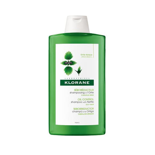 Шампунь c экстрактом крапивы для жирных волос 400 мл (Oily Prone Hair) (Klorane)
