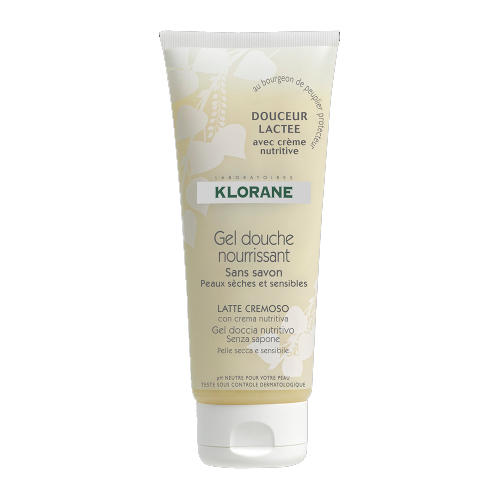 Klorane Гель для душа увлажняющ.Молочная нежность 200мл (Dermo-protection)