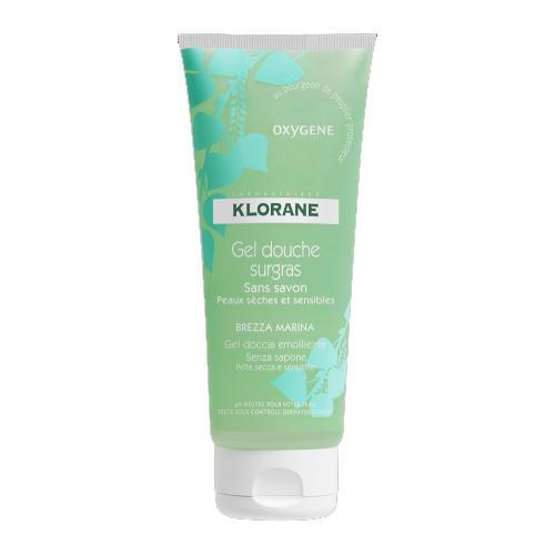 Гель для душа увлажняющий Кислород 200мл (Dermo-protection) (Klorane)
