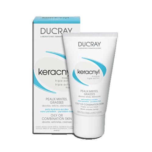 Маска тройного действия Керакнил, 40 мл (Проблемная кожа лица) (Ducray)