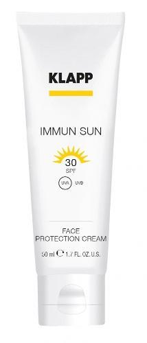 Солнцезащитный крем для лица SPF 50, 50 мл (Klapp, Immun sun) солнцезащитный крем для лица виши