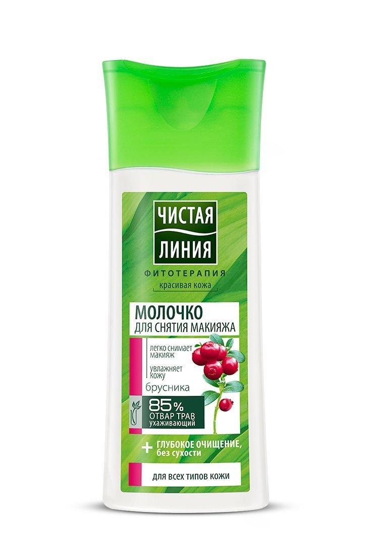 Купить Чистая линия Молочко для снятия макияжа для любой кожи 100 мл (Чистая линия, Уход за лицом), Россия