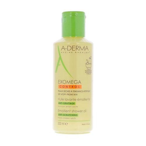 Экзомега Control Смягчающее очищающее масло 200 мл (ADerma, Exomega Control) масло для лица и тела очищающее a derma exomega 200 мл смягчающее