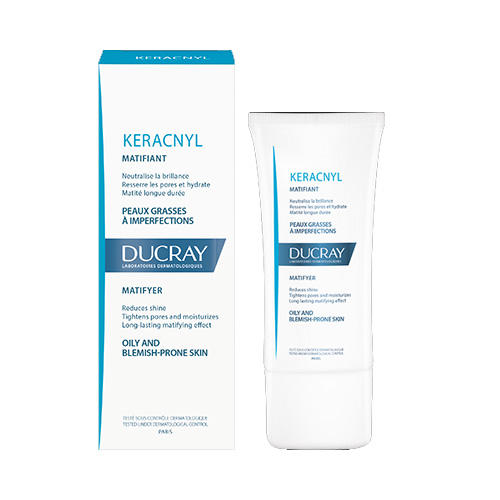 Керакнил Матирующая эмульсия, 30 мл (Ducray, Проблемная кожа лица) разглаживающая сыворотка для проблемной кожи 30 мл ducray проблемная кожа лица