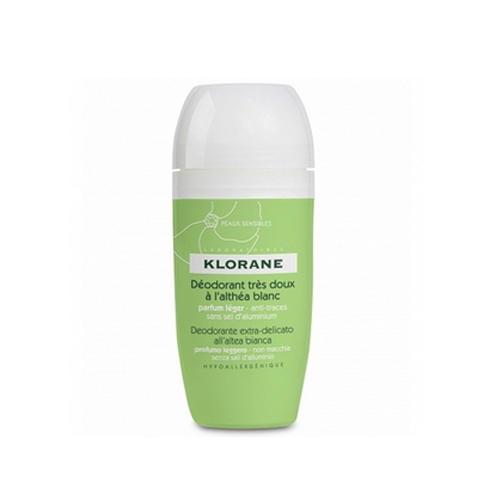 Фото - Дезодорант шариковый сверхмягкий с белым алтеем 40 мл (Klorane, Deodorant) дезодорант шариковый сверхмягкий с белым алтеем 40 мл
