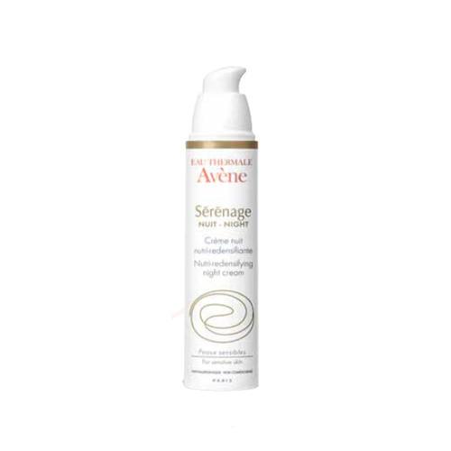 Ночной крем от морщин для зрелой кожи Серенаж 40 мл (Avene, Serenage) c29195 avene