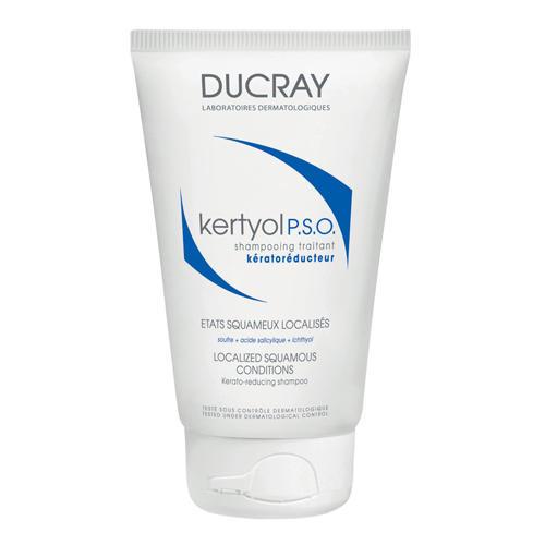 Ducray Шампунь, уменьшающий шелушения кожи головы Кертиоль P.S.O. 125 мл (Перхоть)