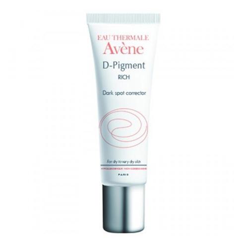 Осветляющий крем от пигментных пятен для сухой и очень сухой кожи 30 мл (Avene, DPigment) эффективный отбеливающий крем от пигментных пятен