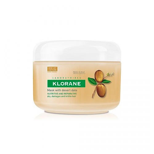 Питательно - восстанавливающая маска с маслом финика пустынного, 150 мл (Dry Hair) (Klorane)
