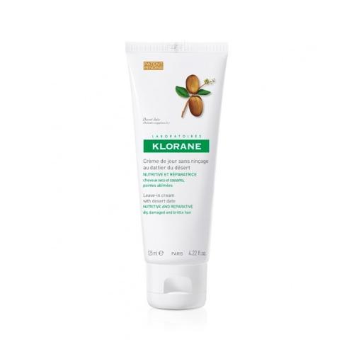 Питательный дневной крем с маслом финика пустынного 125 мл (Dry Hair) (Klorane)