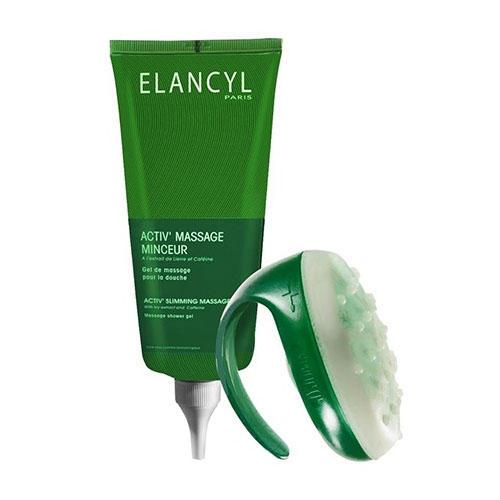 Актив массаж массажер гель для противоцелюлитного массажа 200мл (Elancyl, Cellu Slim)