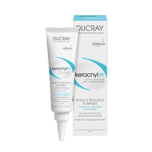Ducray Успокаивающий крем против дефектов кожи Керакнил РР 30 мл (Проблемная кожа лица)