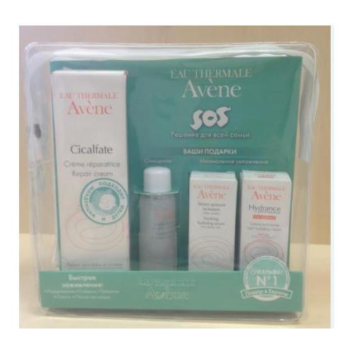 Заживляющий антибактериальный крем Сикальфат 40 мл (Avene, Cicalfate) увлажняющая маска авен