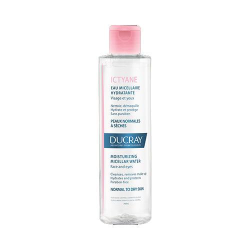 Иктиан Увлажняющая мицеллярная вода для лица и глаз 200 мл (Ducray, Сухая кожа) цены онлайн