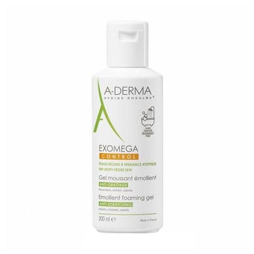 A-Derma Экзомега Control Смягчающий пенящийся гель 200 мл (A-Derma, Exomega Control)