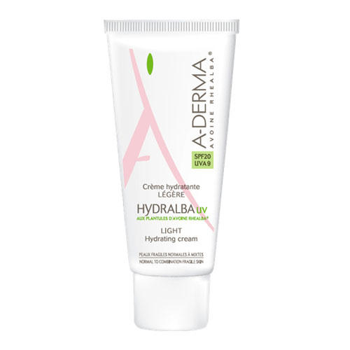 A-Derma Hydralba UV Легкий увлажняющий крем 40 мл (A-Derma, Hydralba) a derma крем hydralba uv насыщенный увлажняющий 40 мл