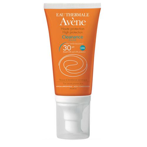Avene Клинанс Солнцезащитная эмульсия SPF 30 50 мл (Жирная и комбинированная кожа)