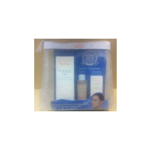 Набор Гидранс Оптималь Риш 40 мл Увлажняющая сыворотка 5 мл Мягкий гель 25 мл (Avene, Hydrance) авен гидранс оптималь риш крем увлажняющий для сухой кожи 40мл