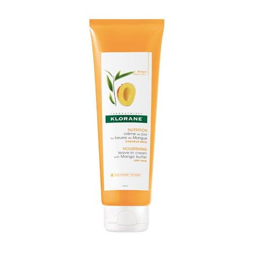 Klorane Питательный несмываемый крем для волос с маслом манго 125 мл (Dry Hair)