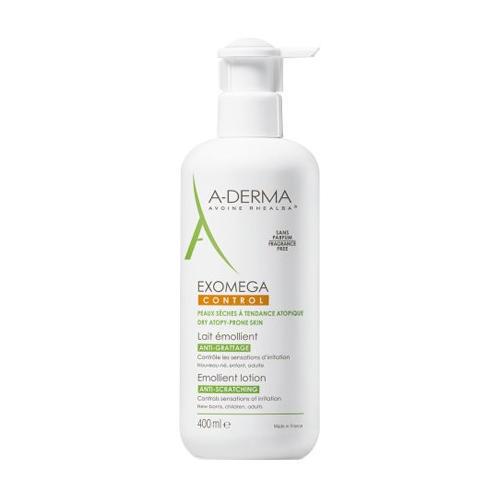 A-Derma Экзомега Control Смягчающий Лосьон 400 мл (A-Derma, Exomega Control)